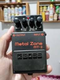 Pedal Analógico Para Guitarra Boss Mt-2 Metal Zone