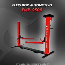 Elevador Automotivo com capacidade de 2,5 toneladas