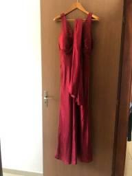 Título do anúncio: Vestido longo de festa - vermelho