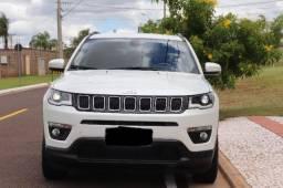 Jeep Compass Longitude 18/18 Branco Perolado