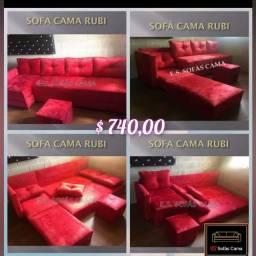 Título do anúncio: Moderno e Prático Sofá cama!