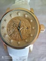 Relógio invicta Yakuza + cordão + pulseira