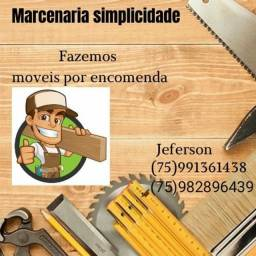 Título do anúncio: Trabalho com móveis de madeira e etc