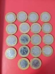 Vendo várias moedas antigas