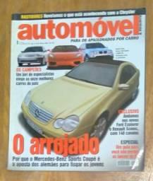 Título do anúncio: Revista Automóvel E Requinte - Ano 5 - N° 50 - Março 2001