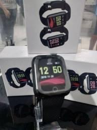 Título do anúncio: Novo Relógio Smartwatch D13 Plus Relógio Inteligente Coloca Foto Na Tela