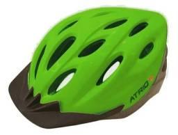 Título do anúncio: Capacete ciclismo/MTB com led traseiro