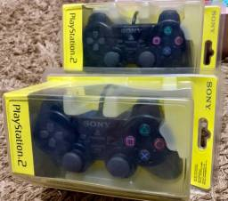 Controle Original PS2 - Lacrado
