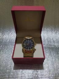 Título do anúncio: Relógio Masculino Tuguir Analógico TG121 - Dourado