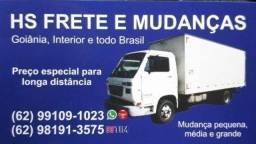 Título do anúncio: Mudanças e fretes Goiânia interior e todo Brasil