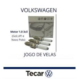 Título do anúncio: JOGO DE VELAS ORIGINAIS VOLKSWAGEN MOTOR 1.0 3CIL