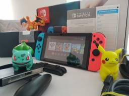 Título do anúncio: Nintendo Switch V1 Desbloqueado à vista R$ 2.600,00