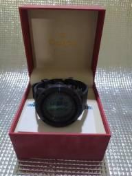 Título do anúncio: Relógio Bússola Masculino Skmei Digital 1216 - Preto e Azul