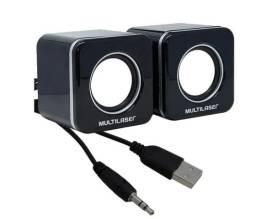 Caixa Som 3w Rms Usb Mini Sp144 / Un / Multilaser Para PC e Notes