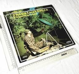 Raridade - LP Disco Vinil - Sons da Transamazônica e o Canto do Sabiá - 1971