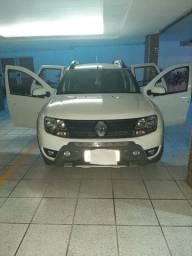 Renault Duster - branca - automático - único dono - 2.0 - 4x2