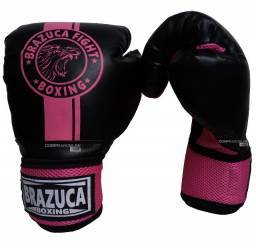 Luva Muay Thai Luva Boxe Brazuca Feminina Barata Promoção Somos Loja