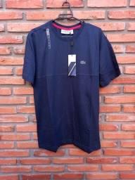 Camisa Lacoste Azul escuro M