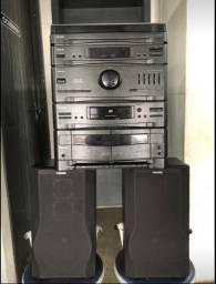Aparelho toca discos 4x1 Philips
