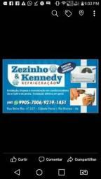 Técnico em refrigeração e eletricista