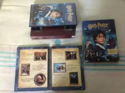 Combo Harry Potter E A Pedra Filosofal Dvd Duplo + Vhs comprar usado  São Paulo