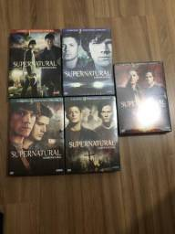 DVDs Supernatural 5 temporadas