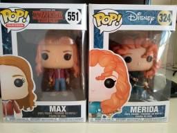 Funko Pop Merida e Max
