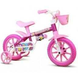 Bicicleta Infantil Aro 12 Menina Nathor