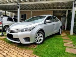 Toyota Corolla automático IPVA TOTAL PAGO - 2015