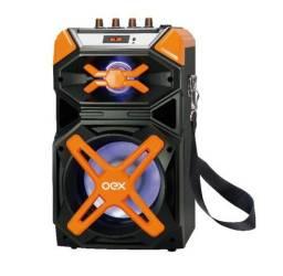 Caixa de Som Amplificada Portátil 120w Bluetooth Sk700 - Oex