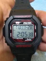 Relógio Digital Unissex grande Top Super Oferta Black Friday