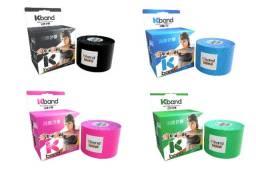 Bandagem Adesiva Kinesio Tape Kband em 4 cores