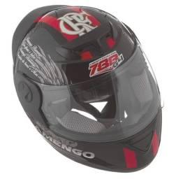 Capacete Fechado Oficial Pro Tork Evolution G4 Flamengo Tamanho 58