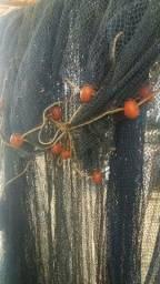 Rede de pesca para camarão