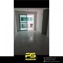 Apartamento com 2 dormitórios para alugar, 56 m² por R$ 850/mês - Água Fria - João Pessoa/