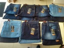 Bermuda jeans masculina plus size