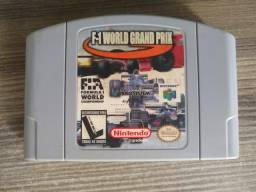 Jogo World Grand Prix. 64 F-1 original