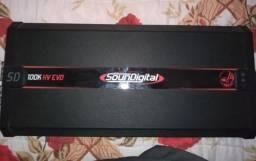 Amplificador Modulo Soundigital 100k Sd Hv