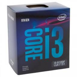 Processador intel i3 9100f novo