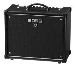 Amplificador Boss Katana 50 MkII Combo Valvular 50W preto 115V - 117V