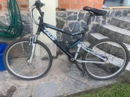 Título do anúncio: Bike Caloi aro 21 alumínio full suspension
