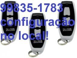 Controle Remoto Motor Portão,Cerca Elétrica e Alarme