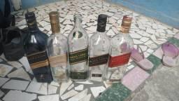Kit garrafa vazia para decoração