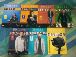 House 7 temporadas completas em dvd