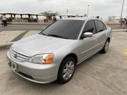 Honda Civic LX 1.7 2003 Impecavel So Hoje
