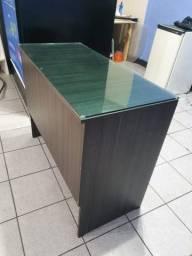 Título do anúncio: Mesa para escritório com vidro temperado