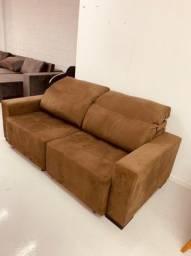 Sofá apollo novo 2 metrôs de largura, retrátil e reclinável!!