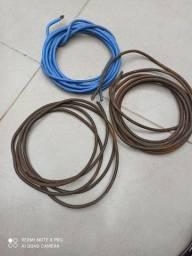 Fio cabo elétrico flexível 14mm