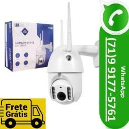 Câmera Ip Infravermelho Externa Wireless 720 pdome Ptz V380 (NOVO)