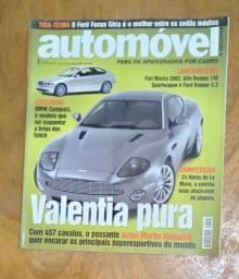 Título do anúncio: Revista Automóvel E Requinte - Ano 5 - N° 53 - Junho 2001